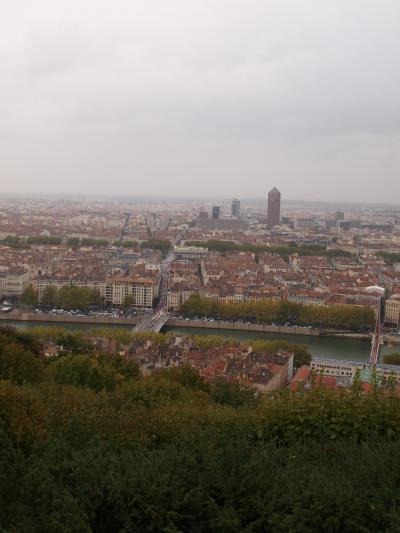 フランス ~リヨン 冷たい雨の中でもグルメの街はどこも満席・・