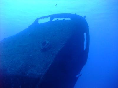 ロタでのんびりダイビング