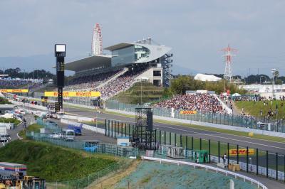 娘とパパの2人旅 その① 2011年 F1日本グランプリ鈴鹿