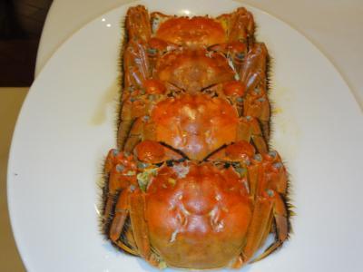 今年も澳門で上海蟹