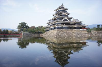 おひさまロケ地と松本城