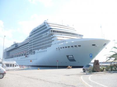 東地中海クルーズ その3・「カタコロン入港とオリンピア観光&フォーマル・ディナー」