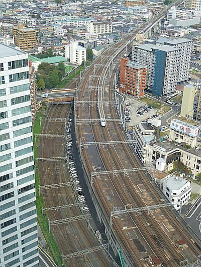 仙台アエル 31階からの展望 仙台市 宮城県