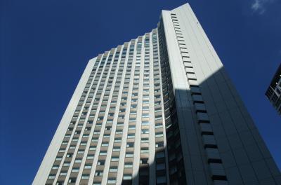 ANAインターコンチネンタル東京のクラブフロアに泊まる。