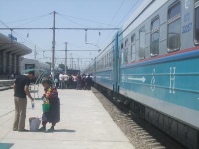 ウズベキスタン旅行記・第2日目(その1)