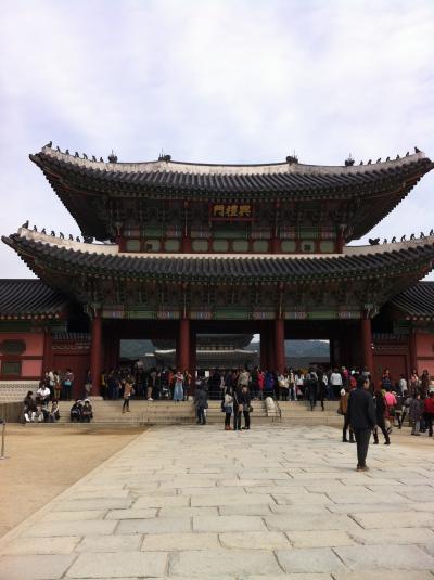 英語も韓国語も出来ない女二人旅、本当に楽しめるのか?!(1日目)
