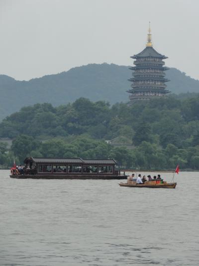 国慶節の上海、杭州2011 西湖