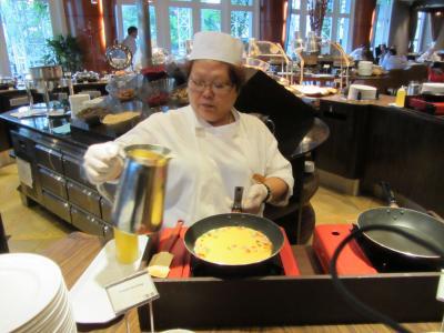 リバーサイドのセレブな朝食~ザ・フラトン・シンガポールの朝食~