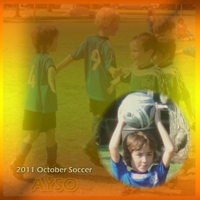 2011 秋の ロング ビーチ サッカー戦 (2)  Fall AYSO Soccer (2)