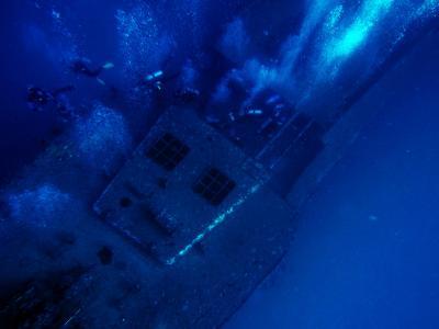 SEA TIGER(沈船)ダイビングその1