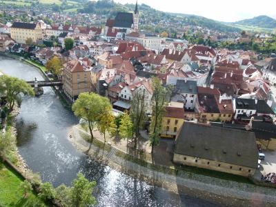 美??女一人。ツアーにまぎれて、中世の町並みを満喫した中欧9日間*3日目*