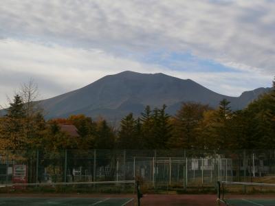 秋の北軽井沢、浅間山