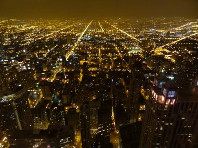 美しい摩天楼の街シカゴ(1日目)