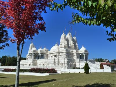 ここはインド? タージマハル? いえいえ、でも凄いぞ、このヒンドゥー教寺院! <in アトランタ>