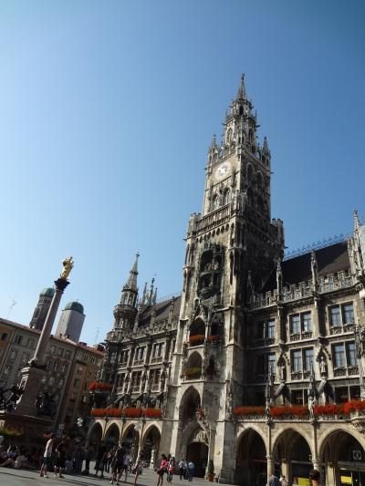 美しい南ドイツ9日間の旅⑨(ヘレンキームゼー城~ミュンヘンへ)