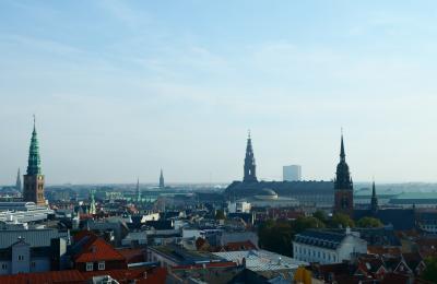 2歳子連れ11年ぶりのラトビア、そして北欧へ 06 デンマークのコペンハーゲン市内散策