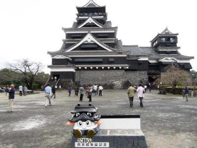 【熊本県(熊本)】今も城下町の面影を残す熊本市内にそびえ立つ「熊本城」