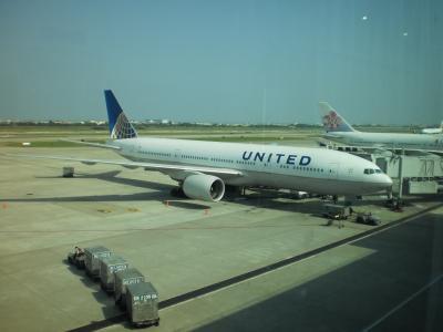 UA852で帰国・・・