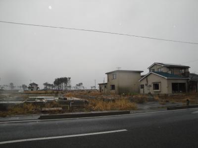東日本大震災被災地視察