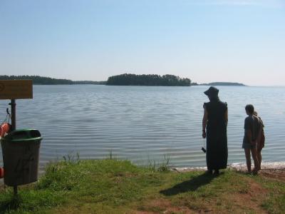 夏休みのドライブ旅行ドイツ~スウェーデンまで④--先輩のうちでバーベキュー