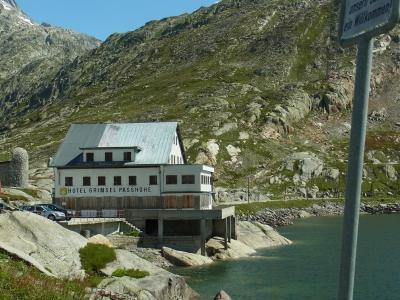 2011年スイス(06) 「グリムゼルパス」~バスで峠越え