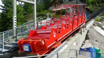 2011年スイス(13) 「ゲルメルバーン」~こりゃぁ、久々のコースター系アトラクションじゃぁ