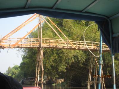 アジアハイウェイの源流を訪ねて(114)メコンに架かる橋。