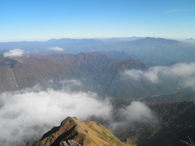 谷川岳2010秋登山記 【2】厳剛新道合流点~谷川岳山頂