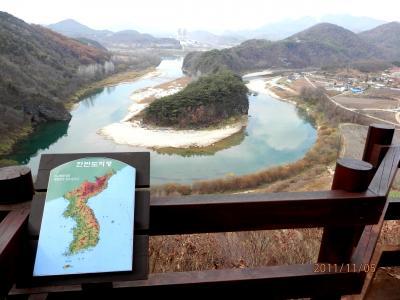 2011秋(8) 江原道・寧越(ヨンウォル) 韓半島地形、清冷浦、荘陵