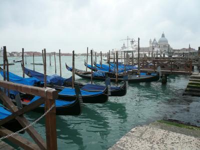 イタリア初めての個人旅行♪ヴェネチア:運河から見る街並み (1)