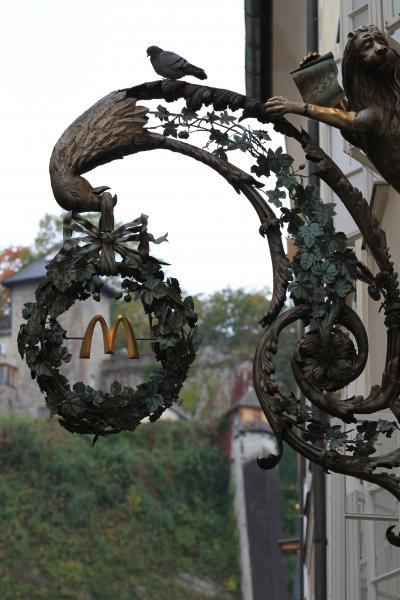 【欧州旅行6日目】 ○ ザルツブルク観光の途中で 「マクドナルド」