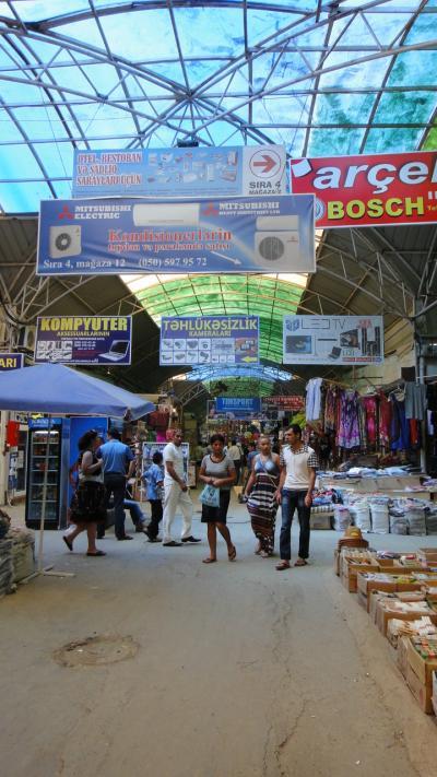 コーカサス最大のバザール:ビナ・マーケットへ ~コーカサス3か国+モスクワ旅行の19日間・3~