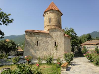 本邦初公開!古代アルバニア教会のあるキシュ村へ ~コーカサス3か国+モスクワ旅行19日間・6~