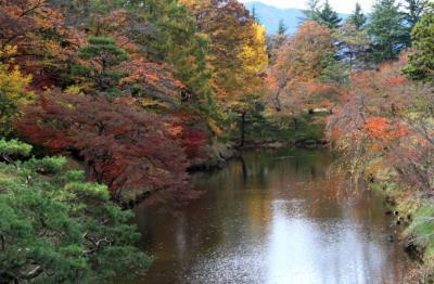 上田城跡公園のいろづき