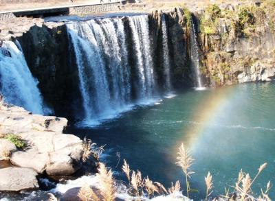 滝めぐり(原尻の滝&沈堕の滝)