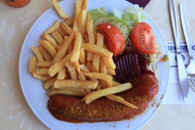 【欧州旅行10日目】 ○ ヘレンキームゼー城内のレストラン 「Schloss-cafe」