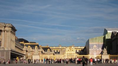 初海外旅行パリ④ベルサイユ宮殿~マルシェ~エッフエル塔~ギャラリーラファイエット