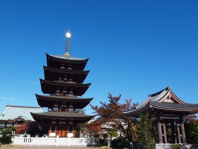 覚王山 日泰寺と紅葉が美しい揚輝荘の庭園 鬼まんじゅうと味噌ランチを楽しもう!