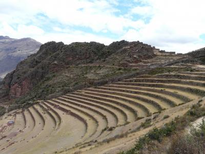 2011夏休み 初めてのペルー13日間周遊(6)ピサック遺跡・オリャンタイタンボ遺跡からマチュピチュへ