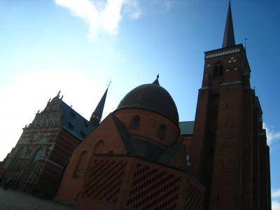 世界遺産、ロスキレ大聖堂&ロスキレ街歩き