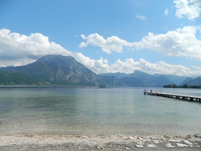 山と湖に囲まれてザルツカンマーグートで過ごす夏(2)トラウン湖・バートイシュル