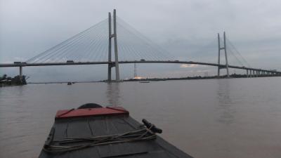 ベトナム旅行記 6-3 ミートゥアン大橋 メコンクルーズ
