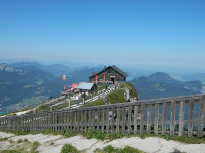 山と湖に囲まれてザルツカンマーグートで過ごす夏(3)登山鉄道でシャーフベルク へ