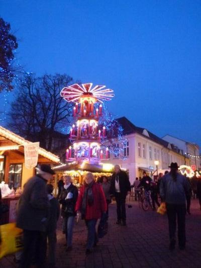 ニコライ教会合唱参加旅行 7日目まるでおとぎの国ヴェルニゲローデからポツダム泊。やっとクリスマスマーケットに出会えた!!