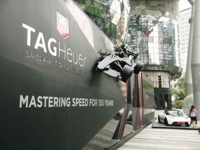 F1&観光@シンガポール オーチャード&ブギス