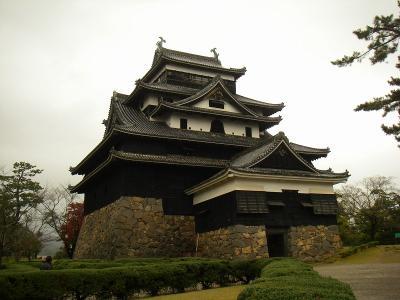 雨の中の散策 城下町・松江