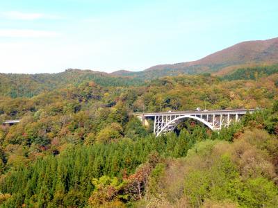 奥の細道を訪ねて第12回②長岡駅から鶴岡までのバスの窓からの景観