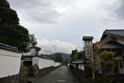 萩の城下町散策