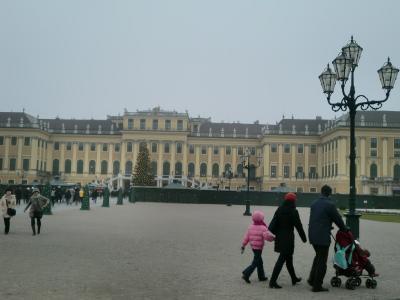 2011オーストリアクリスマス市巡り ⑦ウィーン観光
