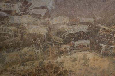 インドの世界遺産No.16:ラスコー、アルタミラと並ぶビームベートカーの石器時代の壁画(改訂版)